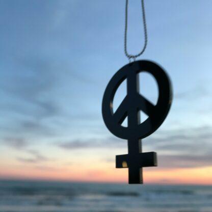 Halsband Hon Peace - Svart