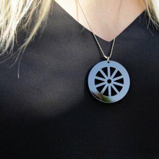 Halsband vagnshjul Ånge - Svart